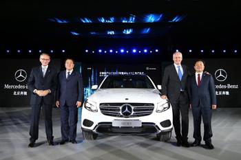 Beijing Benz Automotive Co., Ltd. (BBAC) BBAC, ein Joint Venture zwischen Daimler und seinem chinesischen Partner BAIC Motor,