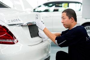 Die C-Klasse erweitert die Modellpalette von Mercedes-Benz in China