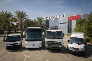 Daimler eröffnet in Dubai bues Center