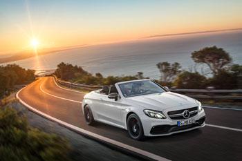 Open-Air-Performance für die C-Klasse - Das neue Mercedes-AMG C 63 Cabriolet