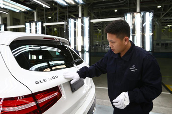 Mercedes startet die Produktion des neuen GLC in China