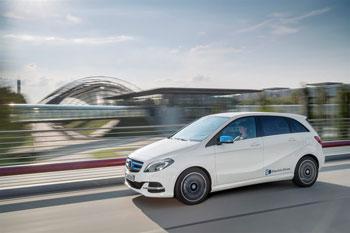 Mercedes ist umweltfreudlich und erhält ein Zertifikat dafür
