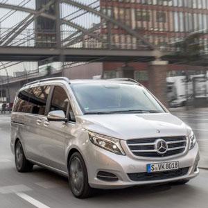 Neues Design der  Stuttgarter Personenwagen-Familie = V-Klasse