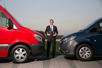 KEP-Transporter des Jahres 2015.  Mercedes-Benz Vans erhalten zwei Auszeichnungen von unabhängiger Fachjury