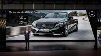 Mercedes-Benz Cars auf dem Internationalen Automobil-Salon Genf 2016