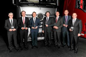 Wieder siegt Mercedes bei CharterWay und TruckWorks