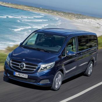 Die V-Klasse von Mercedes räumt einen weiterten Disgnpreis ab