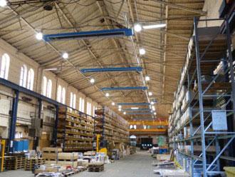 Die Zertifizierung nach DIN ISO 50001 gab für  BORSIG in Berlin den Anstoß zur Heizungssanierung der Produktionshallen und Bürogebäude mit H.Y.B.R.I.D. Installiert wurden die High-Efficiency Heizungssysteme MAXIMA und OPTIMA plus. Die gesamte Anlage wird von der jüngsten Generation KÜBLER Digitalsteuerung geregelt und ist in die GLT eingebunden. (Quelle: KÜBLER Energiesparende Hallenheizungen)