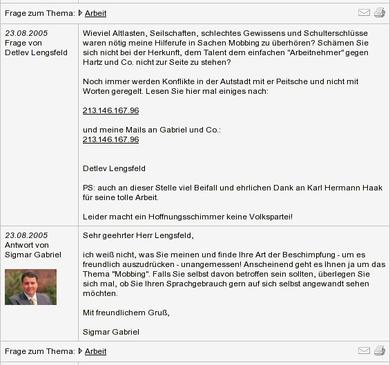 Die SPD unter Sigmar Gabriel ist nicht mehr wählbar
