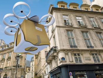 Drohnenverband zeigt Vielfalt der unbemannten Luftfahrt