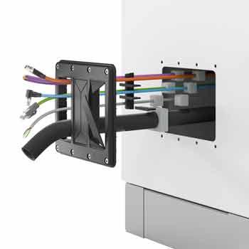 Neues inovatives Kabelmanagement durch KDSClick aus dem Hause CONTA-CLIP  für den Schaltschrank
