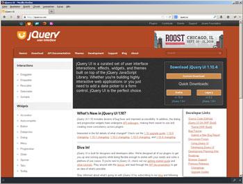 Moderne Webseiten setzen immer häufiger auf die Fähigkeiten von jQuery. Besonders jQueryUI hat einen hohen Mehrwert für moderne Webseiten
