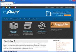 In der modernen webseitenerstellung ist jQuery als Framework der Standard und ein unbedingtes MUSS