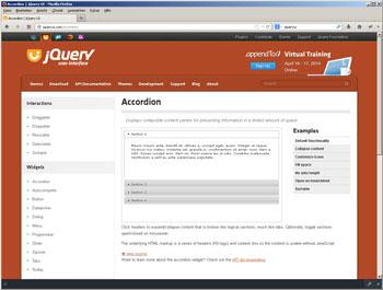 Beispiele zu jQuery UI