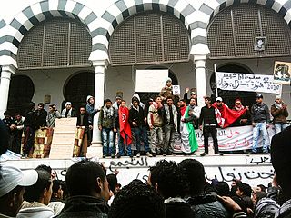 Sit-in in Tunis